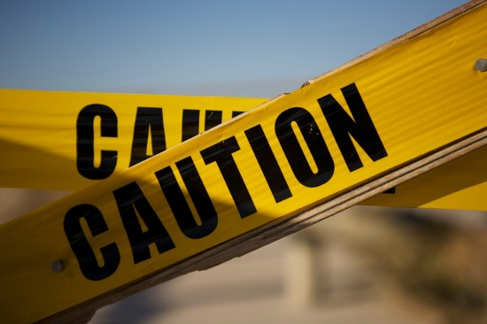 Caution 550x366